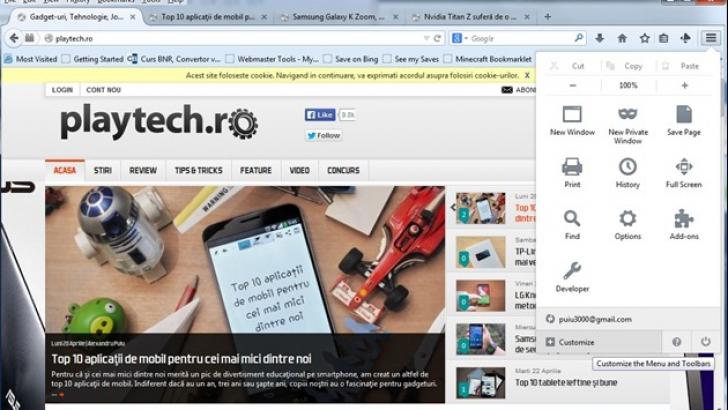 Mozilla Firefox 29,  noua versiune Mozilla Firefox vine cu schimbări radicale de design