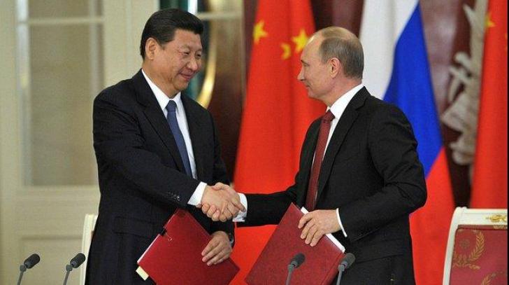Putin bate palma cu China. Acord de furnizare a gazelor rusești pe termen de 30 de ani