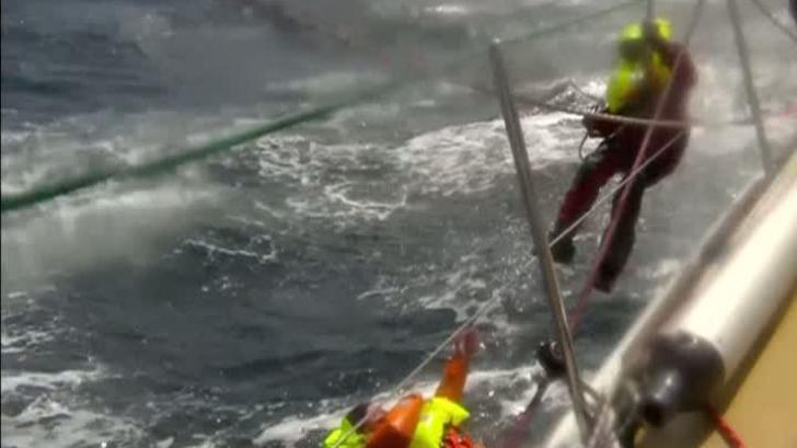 Salvare spectaculoasă în Pacific