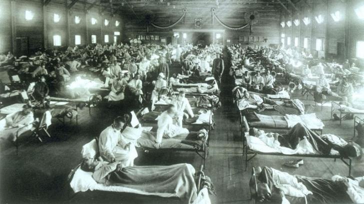 Se spune că gripa spaniolă a omorât în jumătate de an mai mulți oameni decât SIDA în 25 de ani