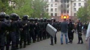Un incendiu a ucis 31 de persoane, vineri, la Odesa