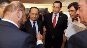 Ponta, la Bruxelles. Ce i-a transmis premierul lui Martin Schulz / Foto: facebook.com