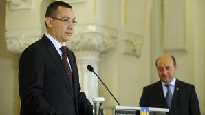 Ponta: Eu cunosc și respect Constituția, nu aveam de ce să îl invit pe Băsescu la Guvern / Foto: MEDIAFAX