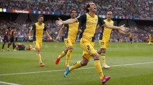BARCELONA, îngenuncheată! ATLETICO MADRID, campioana SPANIEI