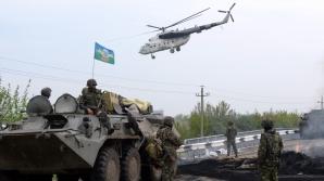 Armata ucraineană a intervenit la Slaviansk