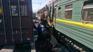 Accident feroviar cumplit