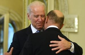 Vicepreşedintele SUA, la Cotroceni. BIDEN REGRETĂ încheierea mandatului lui Băsescu / Foto: MEDIAFAX