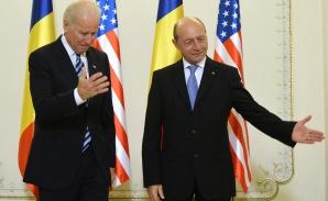 Joe Biden, la Cotroceni. Traian Băsescu, LĂUDAT pentru lupta ANTICORUPŢIE / Foto: MEDIAFAX