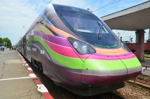 Primul tren electric fabricat în România, la Craiova