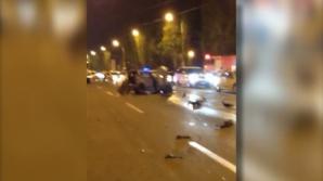 Accident spectaculos la Mamaia