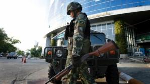 Armata din Thailanda a decretat legea marţială
