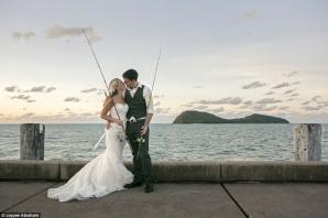 Cum a aflat o mireasă că şi-a ales soţul potrivit, în timpul nunţii. Foto: Daily Mail