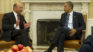 Traian BĂSESCU se întâlneşte cu Barack OBAMA