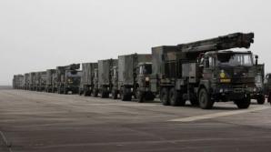 Un convoi militar stârnește panică în Vestul țării
