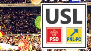 """PNL: PSD foloseşte ilegal marca """"USL"""""""