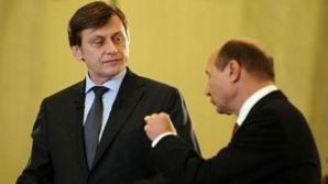 Băsescu: Sunt de acord cu Antonescu; să fie o alianţă anti-PSD să blocheze accesul la Cotroceni