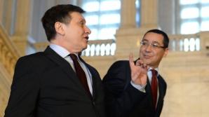 Antonescu: Ce au făcut aseară Gâdea, Ponta şi candidaţii PSD nu am văzut de pe vremea lui Ceauşescu