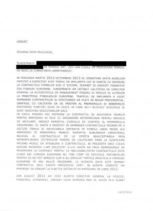 Denunţ pagina 1