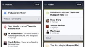 Facebook testează carduri similare cu cele din Google Now
