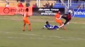 SCENE ȘOCANTE pe teren. A marcat un gol și apoi a murit