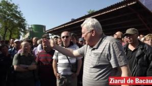 18 salariați de la Amurco Bacău, companie deținută de Ioan Niculae, au intrat în greva foamei