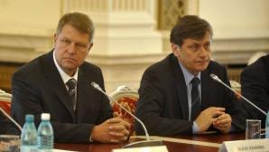 Antonescu şi Iohannis, despre CULISELE RUPERII USL
