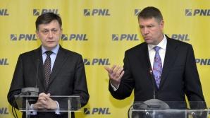 """CRIN Antonescu şi Klaus IOHANNIS: """"PNL, în faţa EXAMENULUI FINAL"""""""