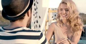 Marius Moga şi iubita sa, în noul său videoclip