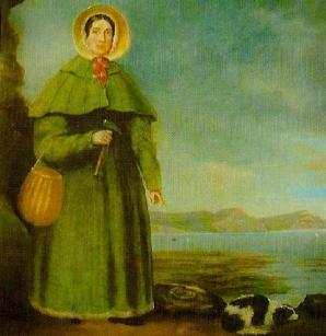 """MARY ANNING, sărbătorită printr-un GOOGLE DOODLE. FOTOGRAFIA """"pierdută"""" cu MARY ANNING."""