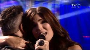 EUROVISION 2014. Nu s-a văzut la televizor! Ce a făcut Paula Seling înainte de intrarea în scenă?