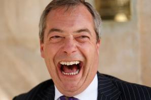 Nigel Farage, liderul UKIP, unul dintre favoriţii alegerilor europene în Marea Britanie