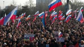 Ucraina protestează faţă de vizita lui Vladimir Putin în Crimeea