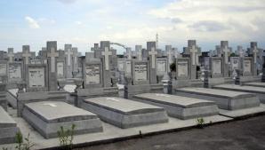 MORMINTE INUNDATE în Cimitirul Municipal Sibiu