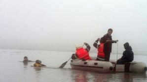 Două cadavre scoase din apele râului Buzău.