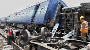 Cel puţin zece morţi şi zeci de răniţi într-un accident feroviar produs în India