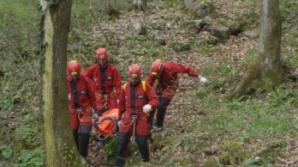 Patru turişti au rămas blocaţi pe Valea Caraiman din Masivul Bucegi