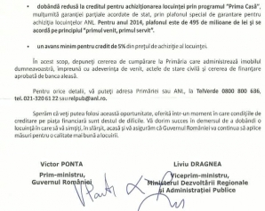 Victor Ponta şi Liviu Dragnea le-au scris chiriaşilor ANL