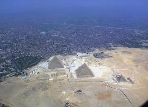 Piramidele din Gizavazute din alt unghi
