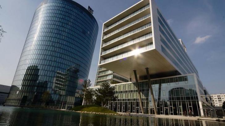 Sediul central OMV din Viena