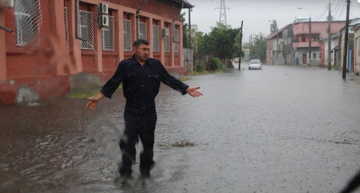 Inundaţii în Galaţi