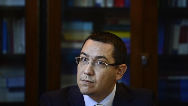 Ponta: Mie mi se pare o prostie să-mi interzică cineva să fiu mândru că sunt român