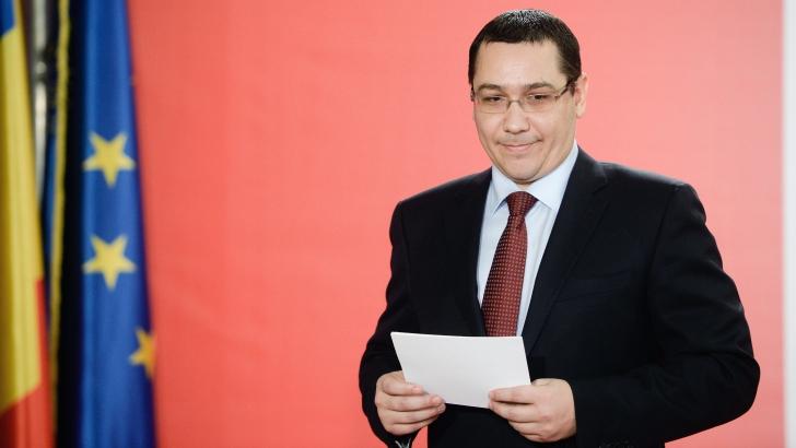 MESAJUL lui Ponta de Ziua Independenței României și de Ziua Uniunii Europene / Foto: MEDIAFAX