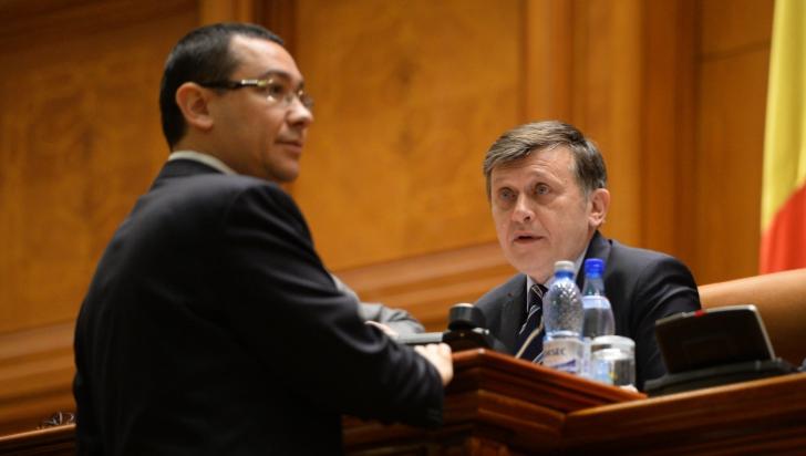 Antonescu şi Ponta, cazaţi la acelaşi hotel la Bistriţa
