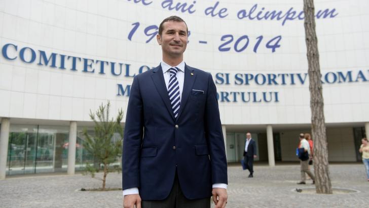 Alin Petrache, noul președinte al COSR: Toată viața am făcut sport