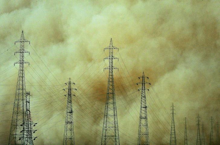 Furtună apocaliptică în Aswan