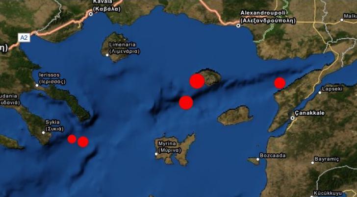 Mai multe replici au avut loc după cutremurul din Marea Egee