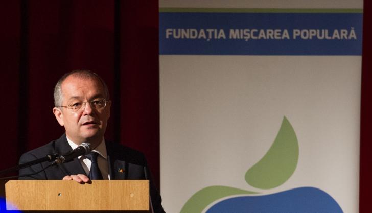 EUROPARLAMENTARE 2014. Primarul Emil Boc urează Partidului Mișcarea Populară un scor de peste 10%