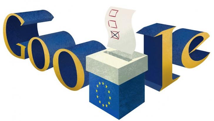 ALEGERI EUROPARLAMENTARE 2014. GOOGLE şi-a schimbat logo-ul