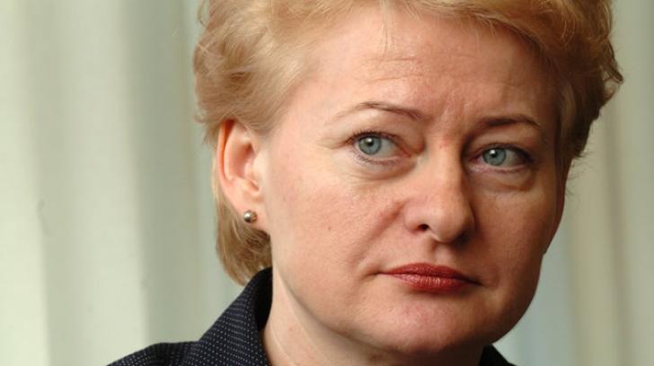 ALEGERI LITUANIA: Dalia Grybauskaite, mai puţin de 50% din voturi