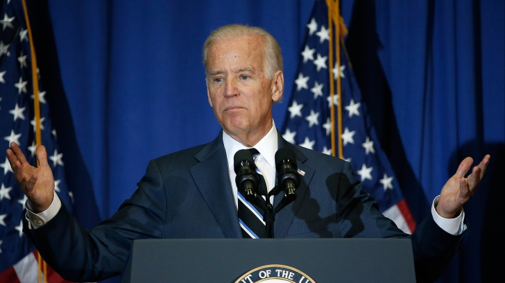 DEBARCAREA de la BUCUREŞTI. Joe Biden, vicepreședintele SUA
